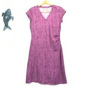 Athleta Pink Nectar Faux Wrap Dress